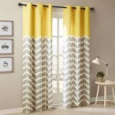 better homes and gardens ikat diamonds curtain panel with grommets