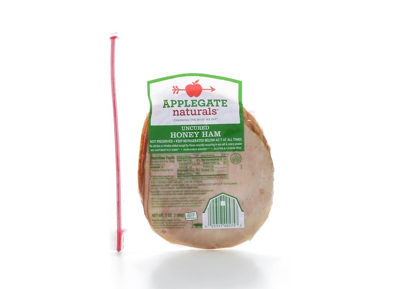Applegate Naturals Honey Ham - Uncured, 7oz