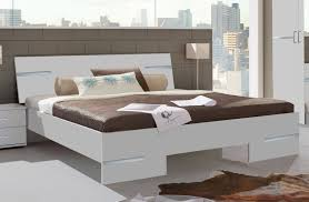 conforama chambre adulte lit adulte design blanc alpin chrome brillant lit adulte