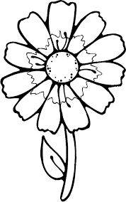 Coloring Pictures Of Flowers For Kids Free