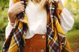 zoella autumn style 70 u0027s u0026 scarves