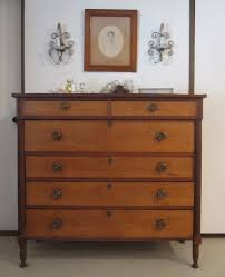 Antique Birdseye Maple Dresser With Mirror by Old And Vintage Natural Maple Dresser With 6 Drawer And Lock Under