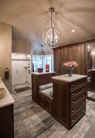 master bathroom closet combination transitional