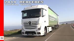 100 Mercedes Semi Truck 2019 Commercial Van Vehicles Lineup YouTube