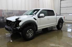 100 Wrecked Ford Trucks For Sale EBay 2017 F150 Raptor Crew Cab F150 Raptor Crew Cab 35