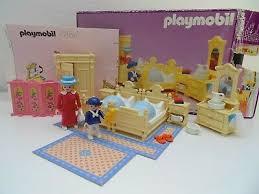 playmobil rosa puppenhaus 5321 schlafzimmer betten nachttopf