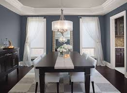 Potential Whole House Neutral 861 Shale Is On This Ceiling Blue Dining Room Ideas