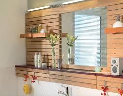 badezimmer renovieren spiegelwand aus holz selbermachen de