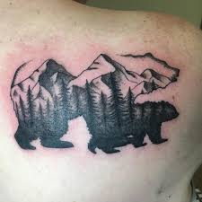 Bear Mamabear Babybear Pnw Pnwtattoo Pnwtattooartist Tattoo