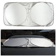 100 Truck Windshield Visor 190 X 90cm Folding SUV Car Front Rear Window Sun Shade