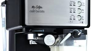 Mr Coffee Steam Espresso Cappuccino Maker Control Panel