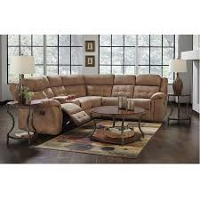 3 Piece Cobalt Reclining Sectional Living Room Collection