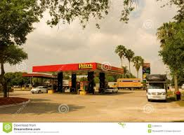 A Pilot Gas Station At Fort Myers, Florida Editorial Stock Image ...