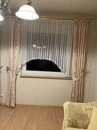 2x wohnzimmer gardinen komplett