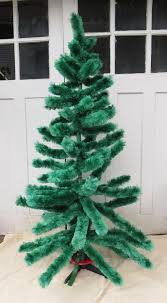 Retro Kirks Green Perma Floss Christmas Tree 65 AKA Fiberglass