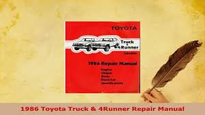 PDF 1986 Toyota Truck 4Runner Repair Manual Download Full Ebook ... Daily Turismo Almost A Classic 1986 Toyota Hilux 1986toyotahiluxpiuptruck1ncustomcab2jpg 1300867 22ret Sr5 Factory Trd Turbo Pickup Youtube 198788 Truck Xtracab 4wd 198688 Seattles Parked Cars Custom Cab Long Bed Sport 2wd Wallpapers 2048x1536 4x4 Tacoma Ac 4 Cyl 5 Spd Sr5 Rebuilt Curbside Pickup Get Tough Last Look Mini From Sticker Shock Discovers Missing Piece Rally Kings Pick Up 20 Years Of The Toyota Tacoma And Beyond A Look