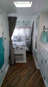 A Trailer Rv Makeover Rhcouk Log Makeovers The Hottest Trend In Rving Cabin Feel