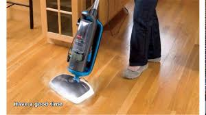 steam cleaning hardwood floors youtube
