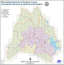 Nashville Planning Department Mapping and GIS Static Maps