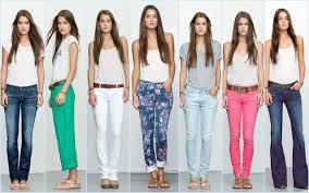 Women Jeans Choose Comfortable Attractive