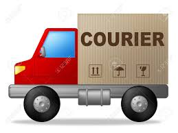 100 Truck Courier Showing Sending Deliver And Delivery Stock Photo