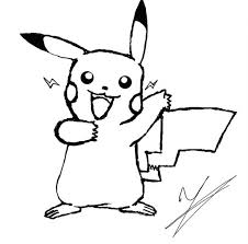 Pikachu Coloring Pages Free Page Printable Pokemon Online