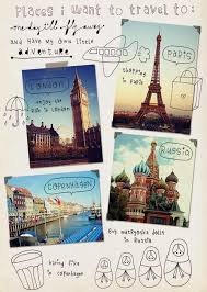 Places I Want To Travel