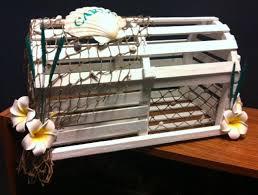 diy lobster trap card box weddingbee
