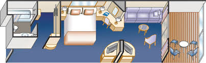 Ruby Princess Baja Deck Plan by Ruby Princess Staterooms