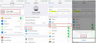 How to Transfer iPhone Contacts to New iPhone with iCloud