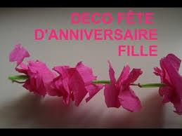 decoration pour anniversaire decoration pour la fete d anniversaire d une fille guirlande