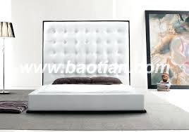Black Leather Headboard Single by Leather Bed Frame Smartwedding Co
