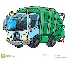 100 Garbage Truck Youtube Funny Car With Eyes Municipal Machinery Stock Vector