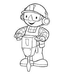 Bob The Builder Coloring Pages 6