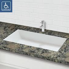 Kohler Verticyl Rectangle Undermount Sink by Undermount Bathroom Sinks Perfect Plain Decoration Undermount