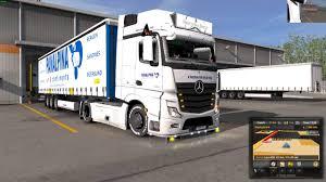 Euro Truck Simulator 2 (1.30) Mercedes Actros MP4 Panalpina Skin ...