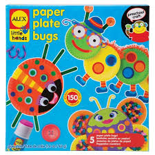 ALEX Toys Little Hands Paper Plate Bugs Target