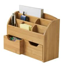 Space Saver Desk Uk by Bamboo Space Saving Desk Organizer Lipper International Desk