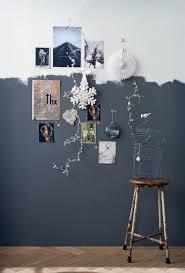 zweifarbige wandgestaltung ideen wand zwei farben grau weiss