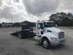 100 Rollback Tow Truck For Sale 2019 Kenworth T270 22 Ft JerrDan Steel