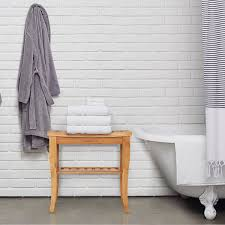 Bathroom Nice Bathroom Storage Ideas With Teak Shower Shelf