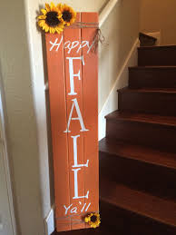 Easy DIY Pallet Fall Sign