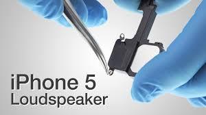Loud Speaker Repair iPhone 5 How to Tutorial