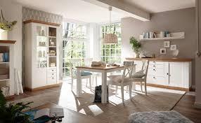 landhaus esszimmer set 312cm pinie weiß wotan eiche esstisch sideboard