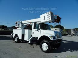 100 Derrick Truck 2005 International 7300 4x4 Altec DM47TR Upper Controls Digger