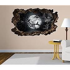 3d wandtattoo vollmond raben ast mond schwarz bild foto wandbild wandsticker wandmotiv wohnzimmer wand aufkleber 11f160 wandbild größe f ca