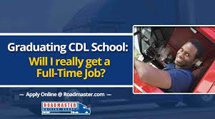 Graduating Truck Driving School: Will I Really Get A Full-Time Job ...