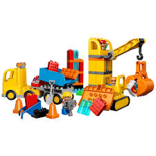 LEGO Duplo Big Construction Site Building Blocks For Ages 25 67