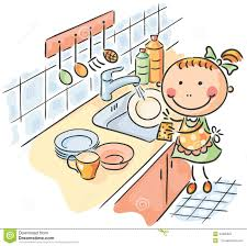 Wash The Dishes Clipart