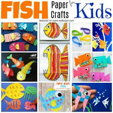 Fun With Paper Fish Crafts For Summer